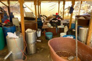 Catean narco laboratorio del Cártel de Sinaloa
