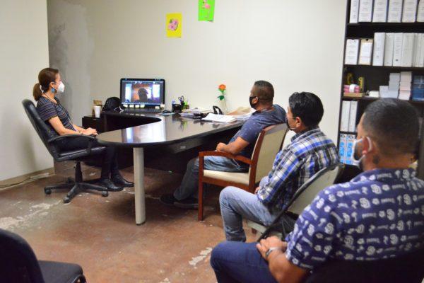 Concluyen charlas motivacionales para personal del Sistema DIF que laboró durante la contingencia
