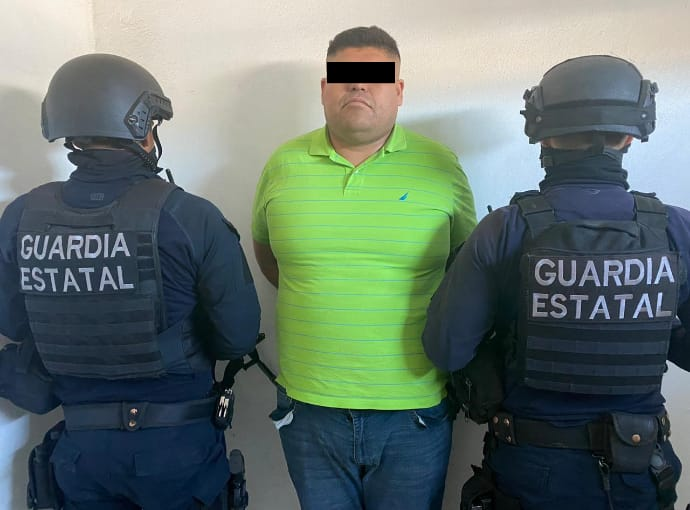 "Capturan al ""Chiquilín"" líder del CJNG en Tecate"