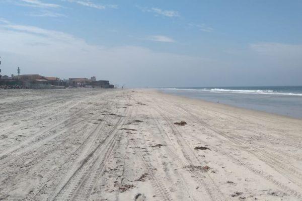 Anuncia cierre total de playas de Rosarito durante próximo sábado y domingo