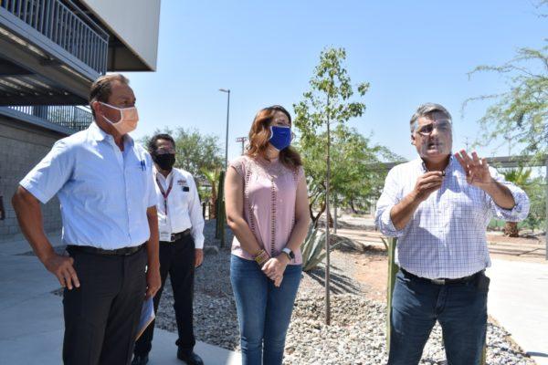 Entrega Ruiz Uribe a Marina del Pilar Obra del Gobierno Federal