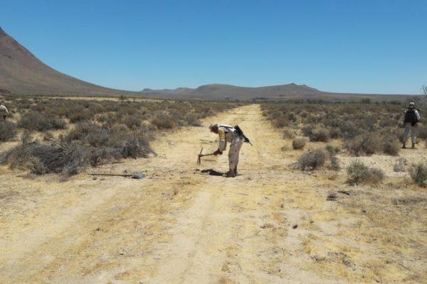 Localizan pista de aterrizaje clandestina en el Cerro del Coyote