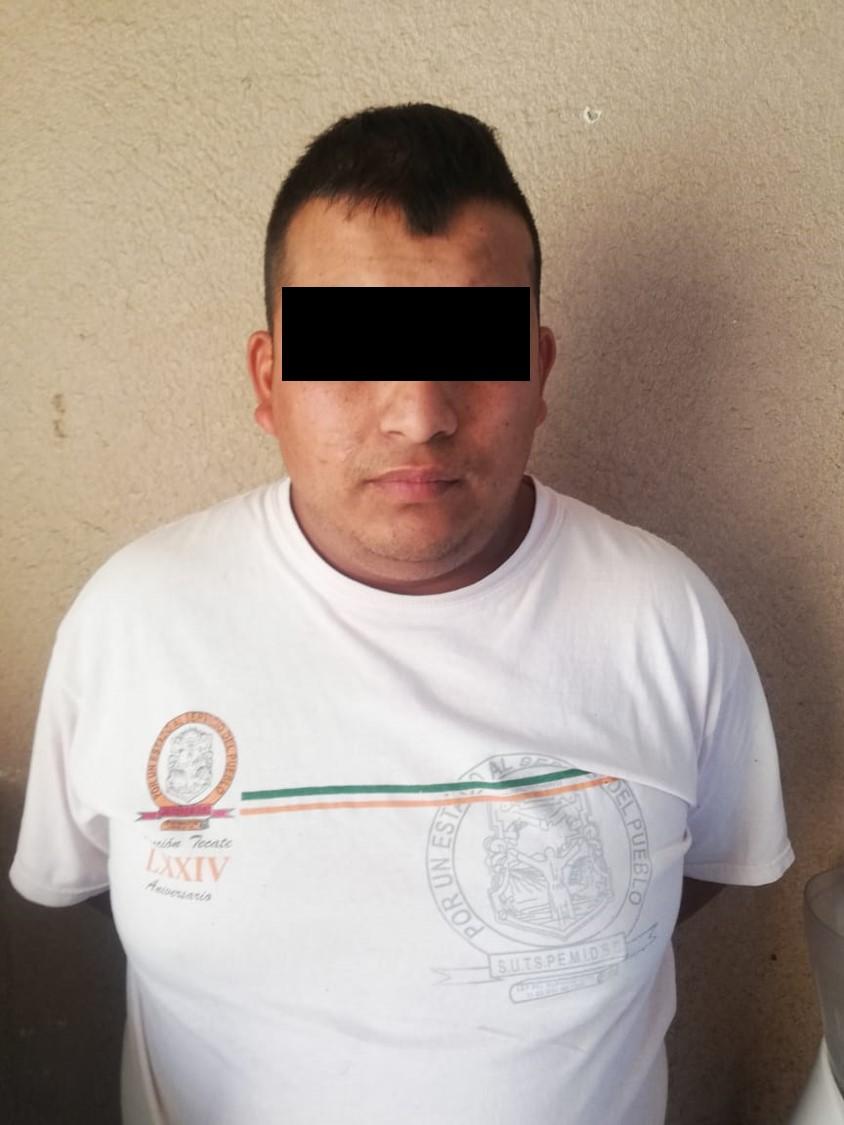 Vinculan a proceso a Policía de Tecate detenido con metanfetamina