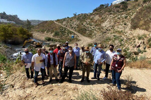 CESPT y autoridades acuerdan trazar plan para prevenir futuras inundaciones en el Cañón del Matadero