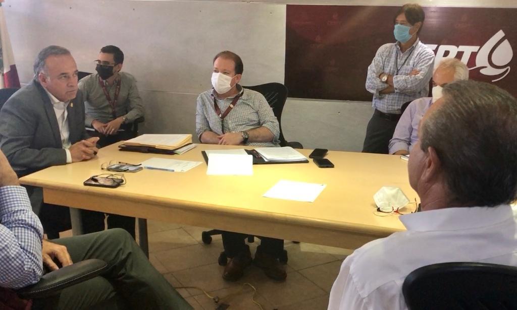 Atestigua titular de SEPROA  Entrega – Recepción de la Comisión Estatal de Servicios Públicos de Tijuana