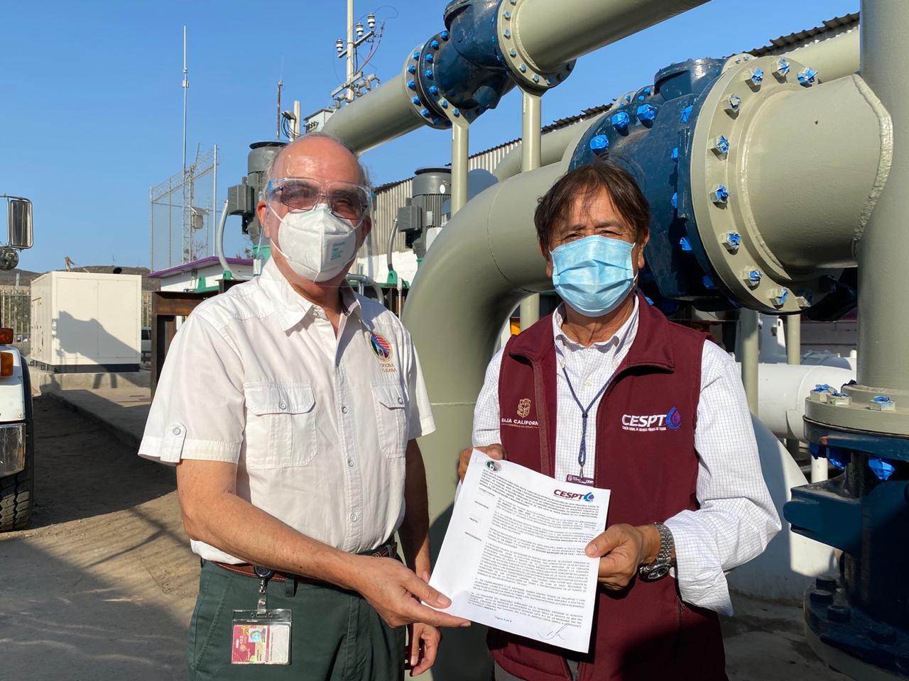 CESPT entrega inmueble a CILA para construcción y operación de Planta de Pretratamiento