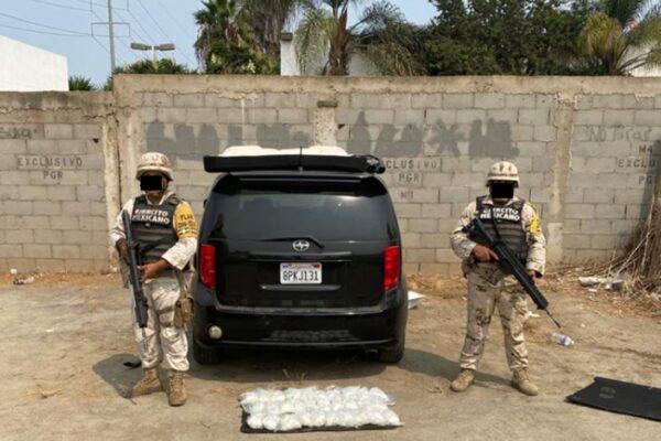 Detienen a hombre con cargamento de droga superior a los 2 MDP