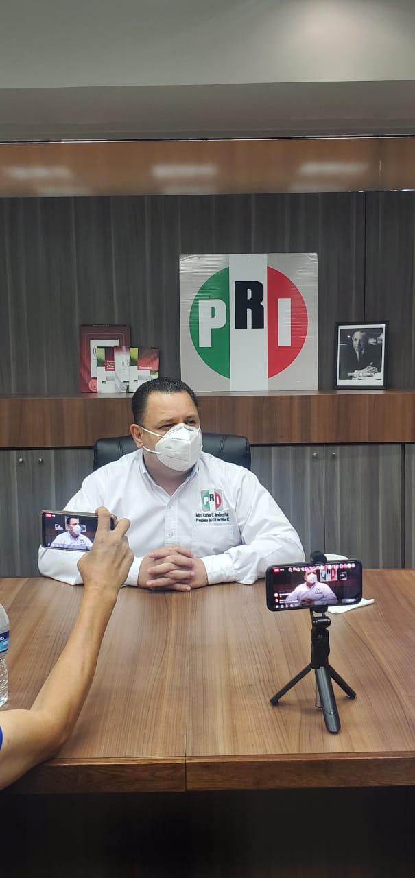 II Informe de Gobierno de AMLO fue mensaje a sus fans: PRI BC
