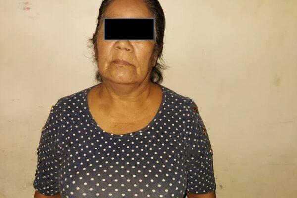 Detienen a mujer narcomenudista