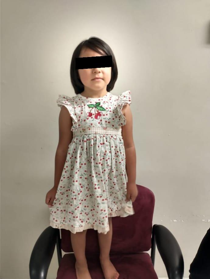 Rescatan a menor de 5 años que había sido sustraída ilegalmente