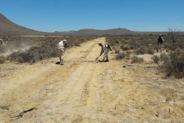 Militares inhabilitan pista clandestina del narco