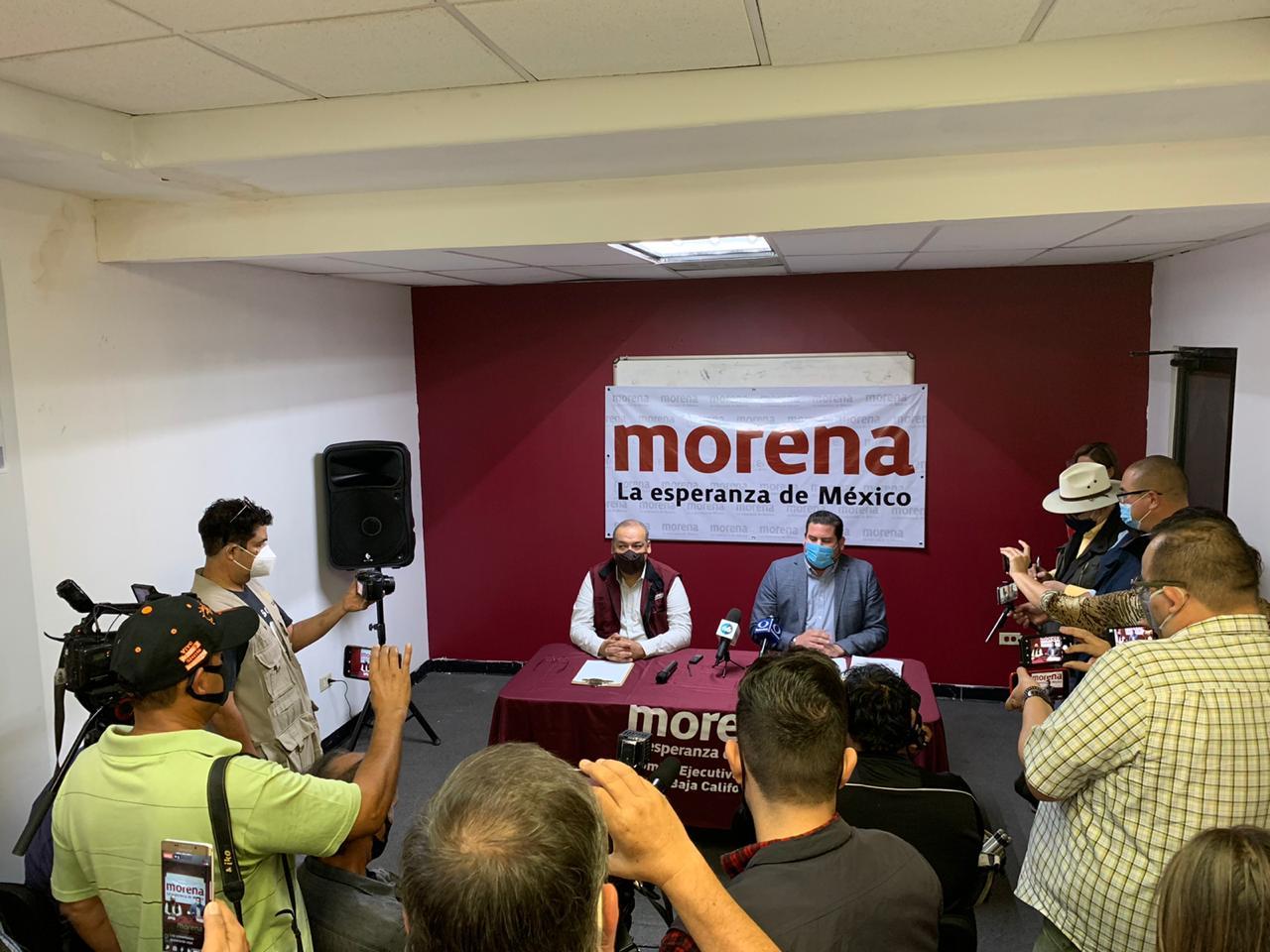 Burgueño, el único presidente de Morena  en BC: Ramírez Cuéllar