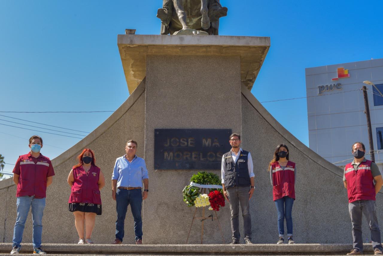 Rinden Homenaje a Servidores de la Nación de BC Caídos Ante el Covid-19