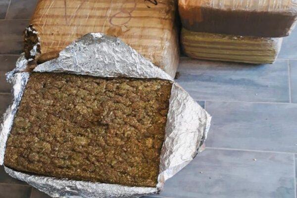 Vinculan a proceso a una persona asegurada con casi 160 kilos de marihuana