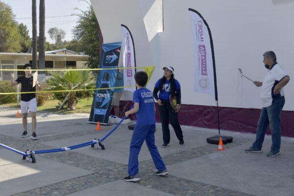 Transmite IMDET clínica de bádminton escolar donde participan seleccionados estatales