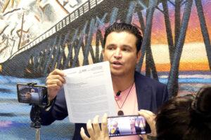 Confirma la SHCP que es ilegal el padrón de Bonilla de automóviles irregulares: Fidel Villanueva Ramírez