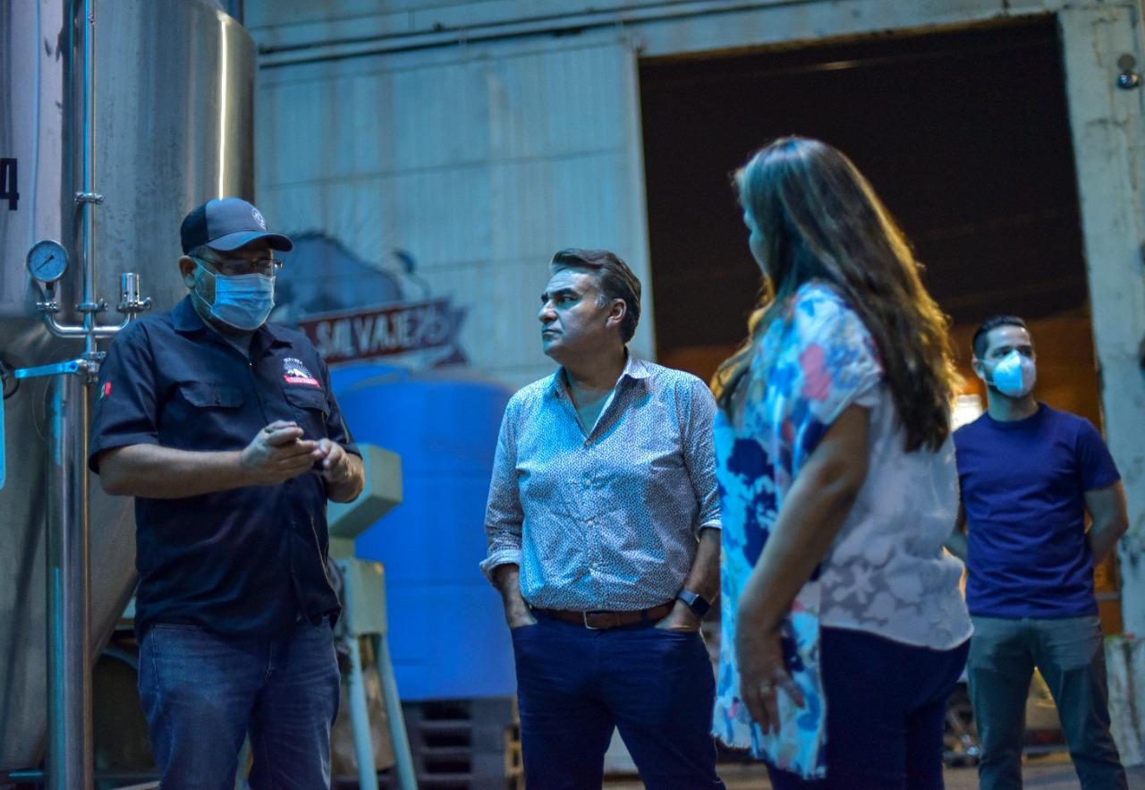 Se Reúne Ruiz Uribe con el Sector de Cerveza Artesanal