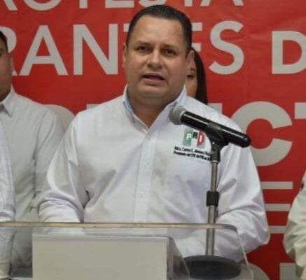 EL PRI SE SUMA A LAS DEMANDAS DE LOS CUERPOS                                POLICIACOS DE BAJA CALIFORNIA