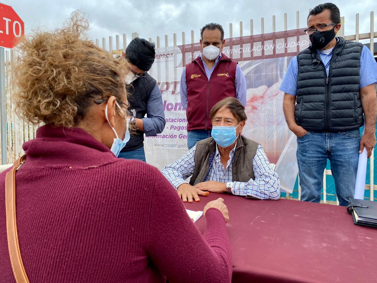 CESPT se reúne con habitantes de Rosarito, para hacerles llegar el servicio de agua potable