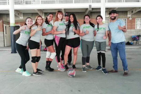 Participa la Normal Fronteriza en Curso Internacional de Voleibol