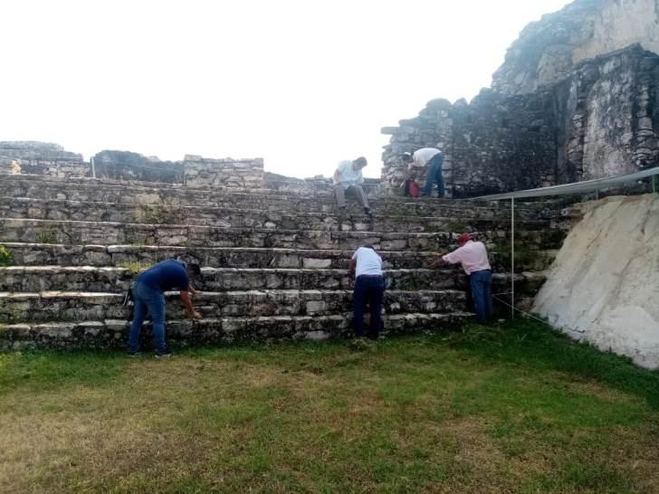 Avanza conservación, investigación y difusión de la Zona Arqueológica de Palenque