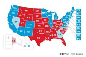 Es Biden virtual ganador de  las elecciones presidenciales de EUA
