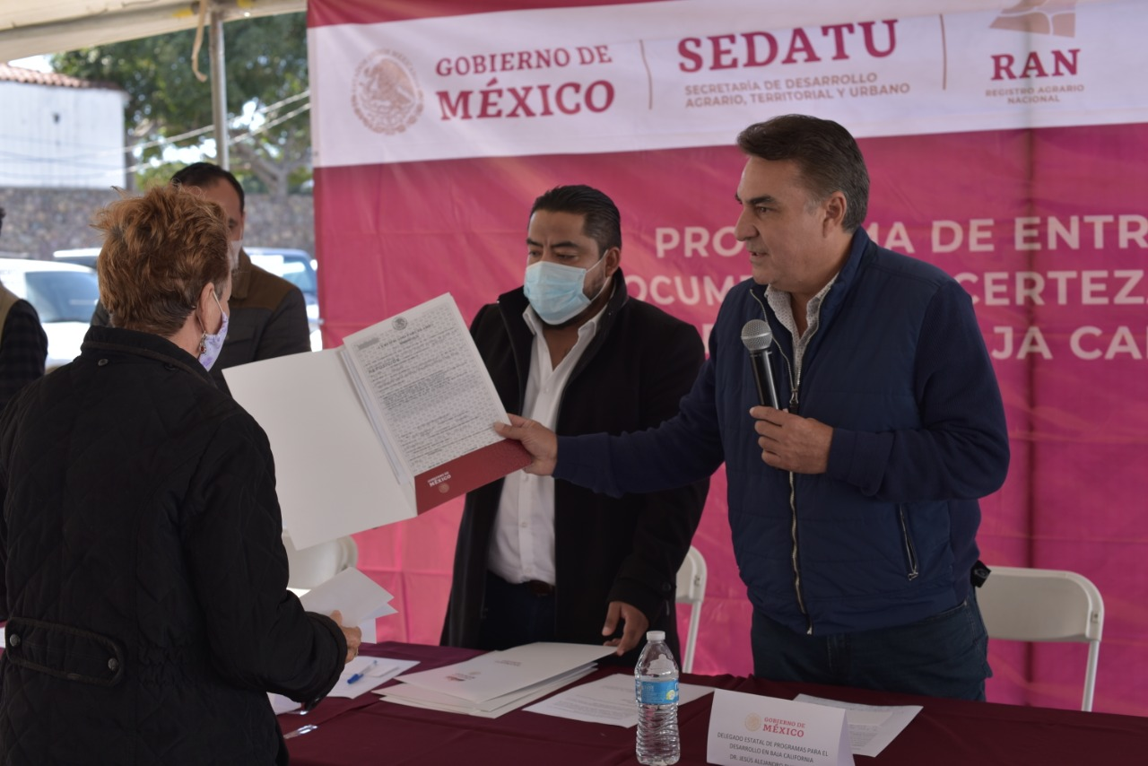 Gobierno de México cierra las puertas a la corrupción en la entrega de Documentos Agrarios