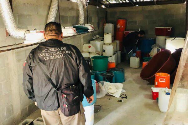 Desmantelan Narco Laboratorio y asegura más de 200 kilos de metanfetamina