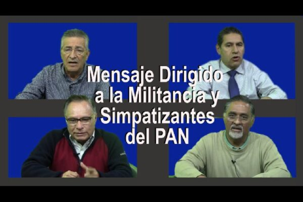 Ex dirigentes del PAN piden hacer alianza ciudadana y apoyar a Leyzaola
