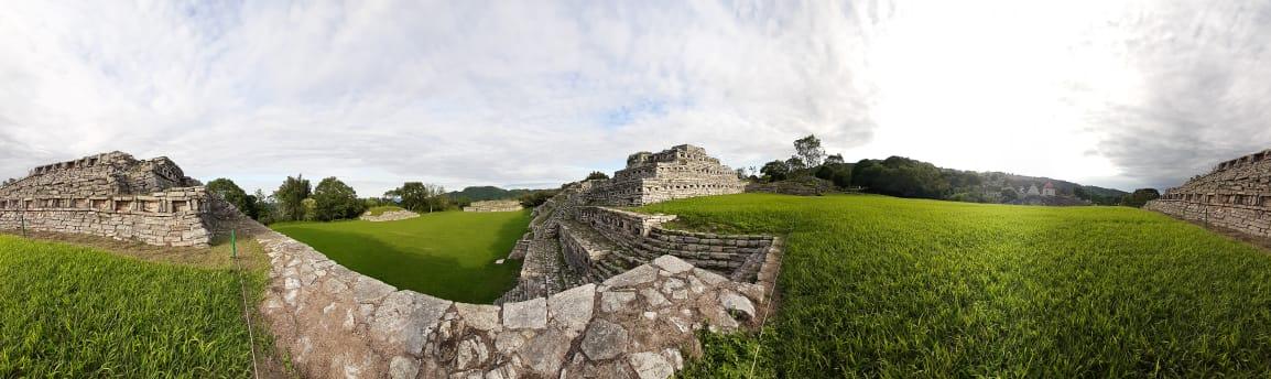 Reanuda actividades la Zona Arqueológica de Yohualichan, en Puebla