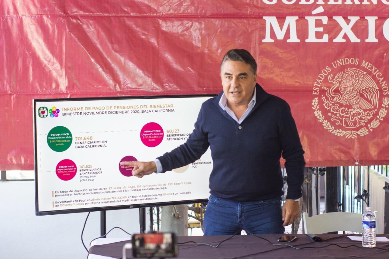 Exitosa jornada de pagos de Pensiones de Adultos Mayores y Personas con Discapacidad: Ruiz Uribe