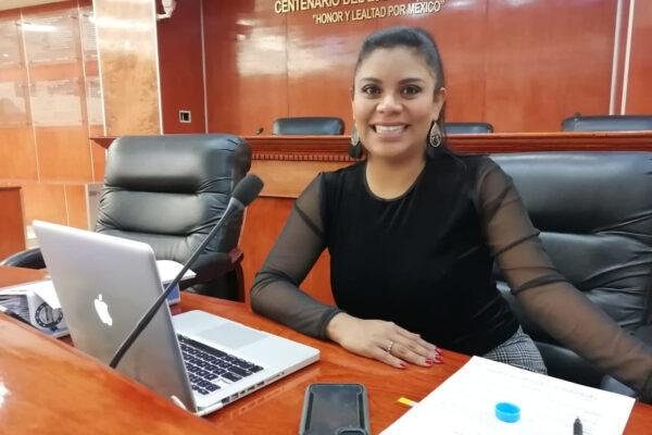 Montserrat Caballero presidirá por un periodo más la Junta de Coordinación Política de la XXIII Legislatura Local