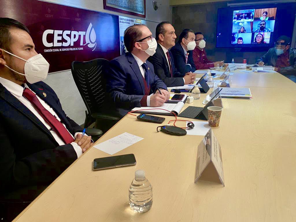 CESPT presenta propuesta de ley de ingresos ante el Congreso del Estado