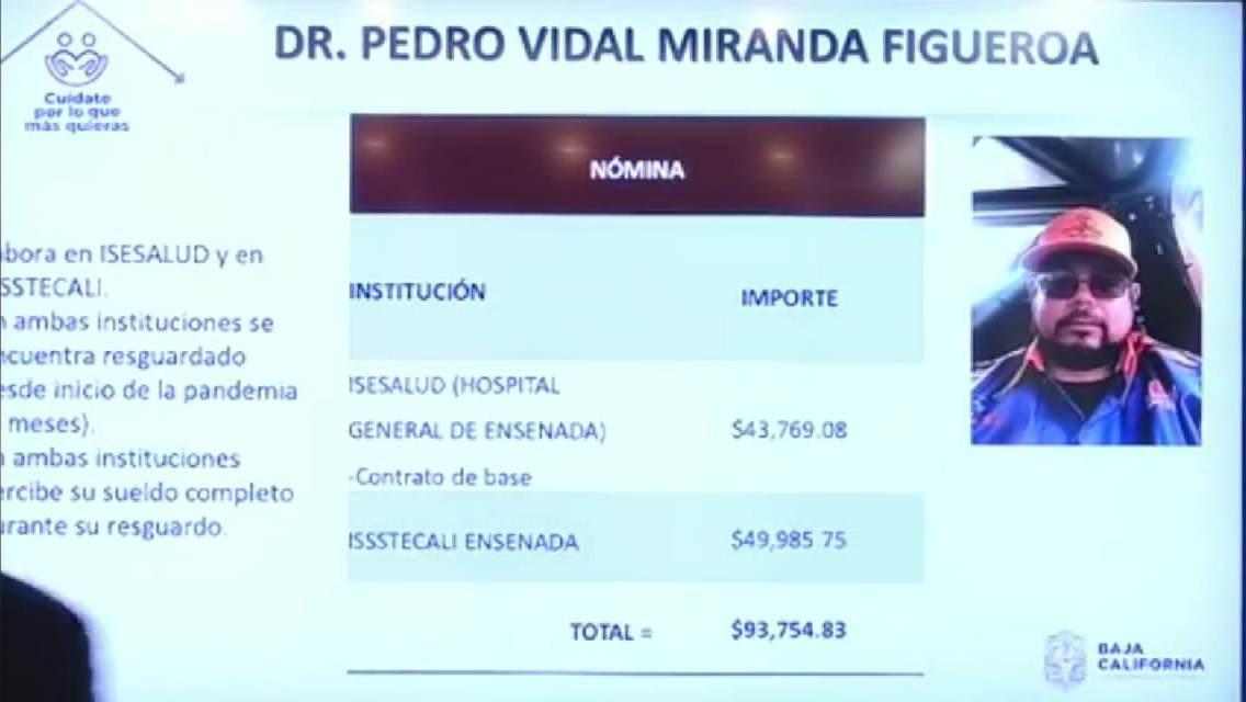 Más de un millón de pesos ha percibido sin trabajar doctor abusivo que se vacunó