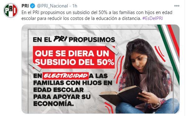 ES DEL PRI FORTALECER LA ECONOMÍA MEXICANA