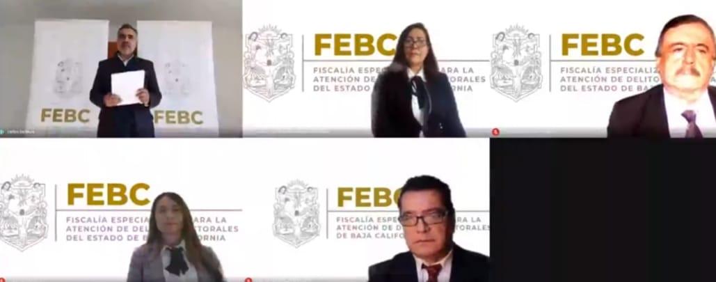 Presenta Fiscal Electoral a colaboradores