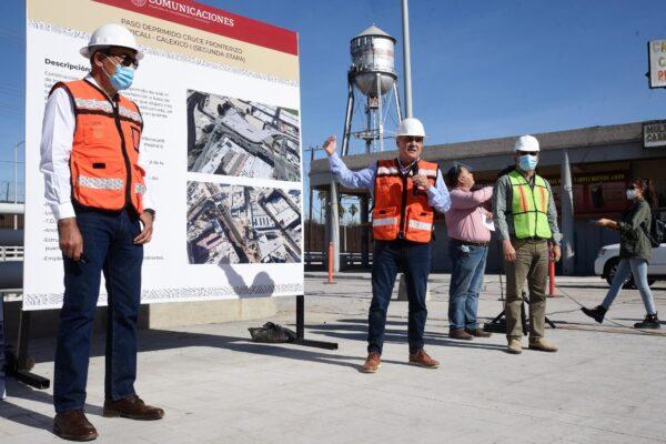 Gobierno Federal moderniza cruce fronterizo de Mexicali-Calexico: Ruiz Uribe