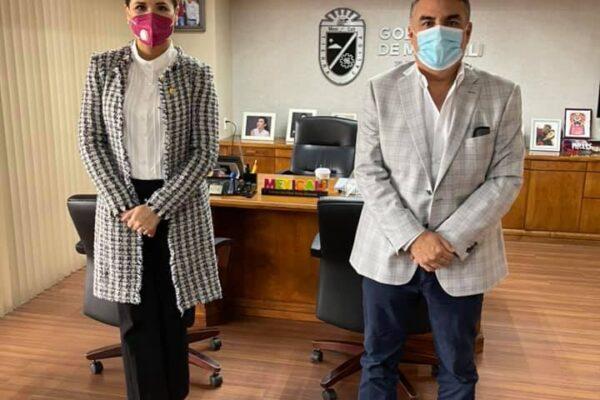 Se Reúnen Marina del Pilar y Alejandro Ruiz Uribe
