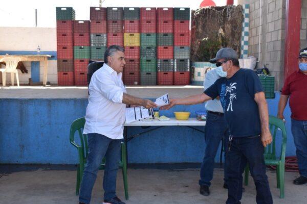 Lamenta Delegado Federal Único que Diputado Víctor Morán desconozca  las acciones del Gobierno Federal en favor de los pescadores
