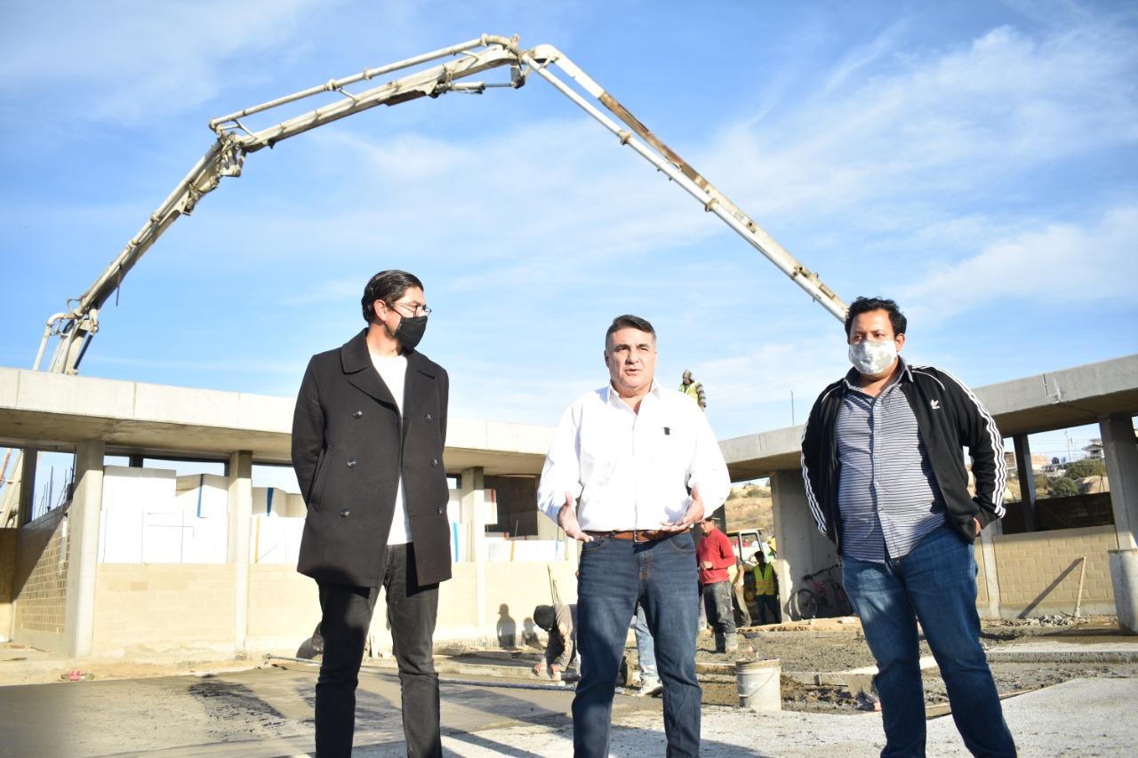 Gobierno Federal Construye Preparatoria Municipal en Parajes del Valle