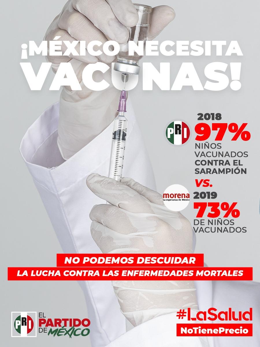 LA CRISIS DE SALUD EN MÉXICO VA MÁS ALLA DE LA PANDEMIA: PRI