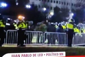 DESEA EL PRI RESTABLECIMIENTO DEL ORDEN EN EEUU, POR EL BIEN DE SUS CIUDADANOS