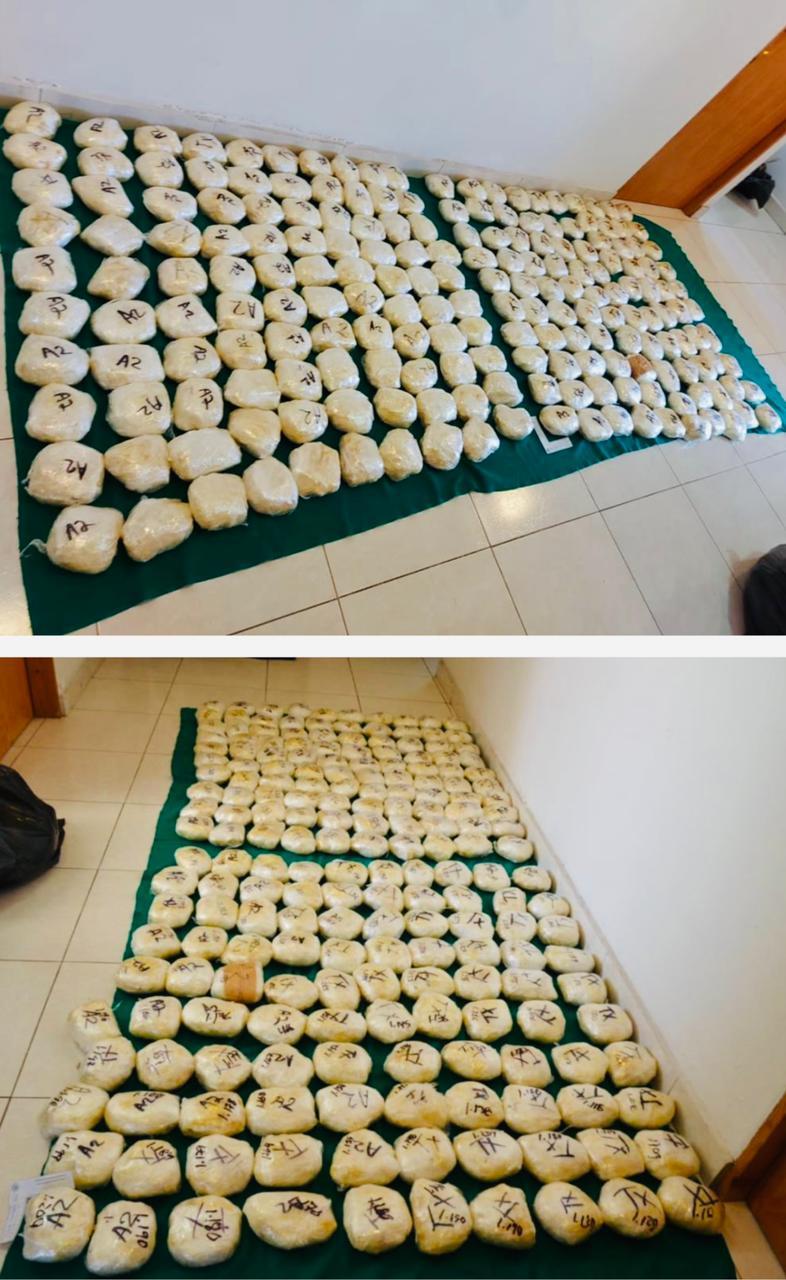 Vinculan a proceso a una persona que transportaba más de 600 kilos de metanfetamina
