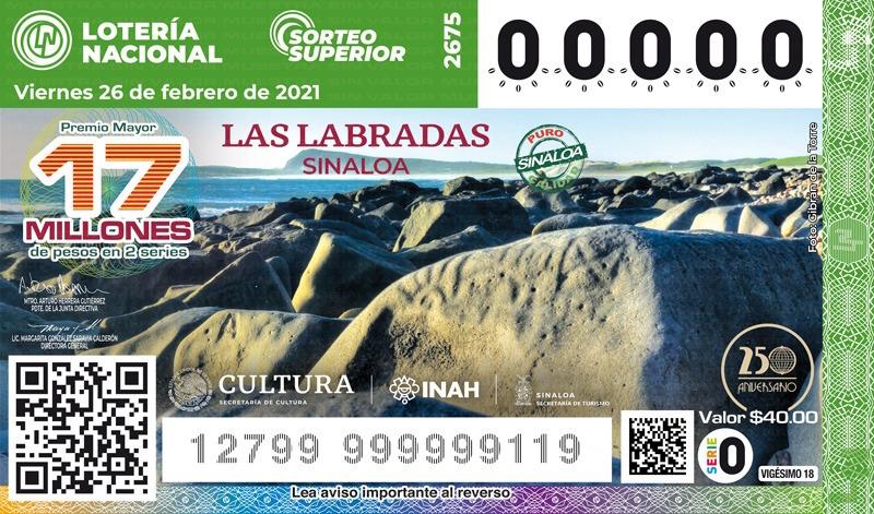 Develan billete de Las Labradas, Sinaloa, santuario rupestre del continente americano