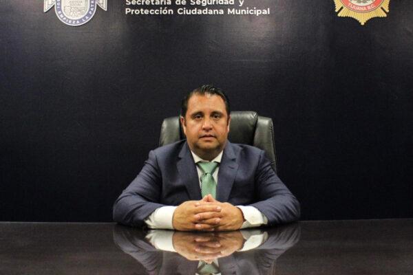 Asume Héctor Villegas la Dirección General de Policía y Tránsito Municipal