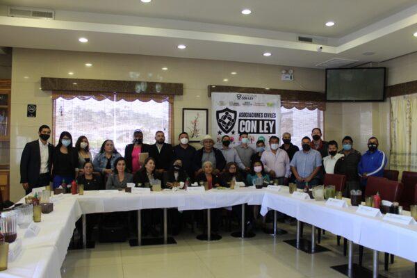 Se unen asociaciones civiles en apoyo a Julián Leyzaola