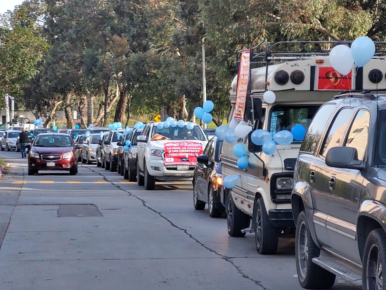 Realizan Caravana por la Vida en Baja California y otros 29 estados del país