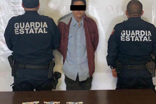 Detienen al Guitarras presunto narcomenudista de la Zona Norte