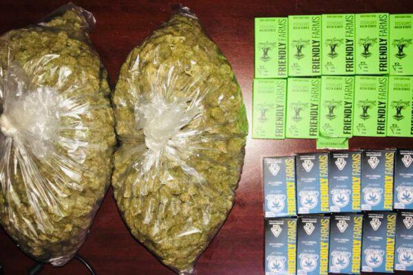Vinculan a proceso a una persona por introducir marihuana al país