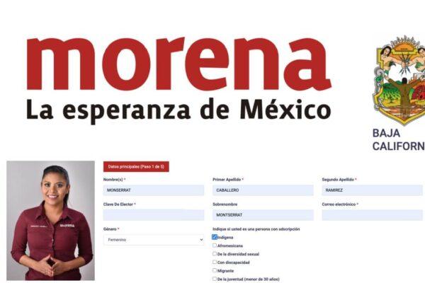 Se registra Montserrat Caballero como aspirante a la Alcaldía de Tijuana por Morena